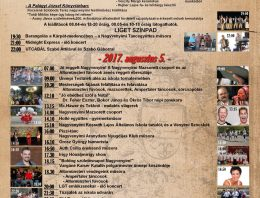 Jubileumi Falunap a 70 éves Nagyvenyimen