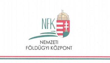 Nemzeti Földügyi Központ – Hirdetmény